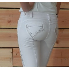 Animo Novella,breeches,white