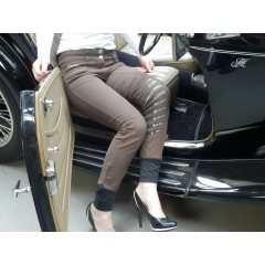 """Animo Nosicop, breeches full seat, color """"Wood"""""""