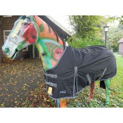 * outdoor deken met fleece voering