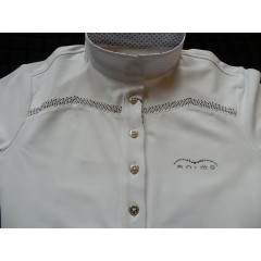 Animo Buccia polo ,white,short sleeves,white