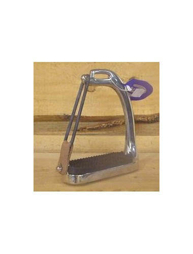 safety stirrups with elastic