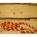 Halstertouw , spaanse kleuren