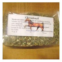 Natural herbs to cure grease on horselegs