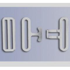 Koppelsluiting,3 delig,nikkel