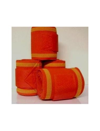 Bandages rood/goud