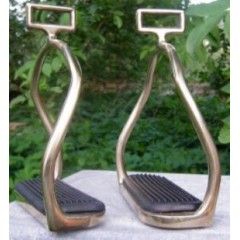 Icelandic stirrups copper