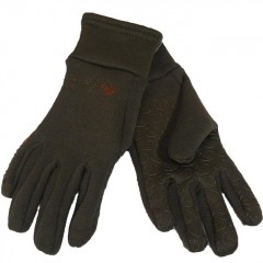 Roeckl fleece gloves - Brown