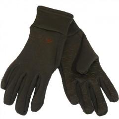 Roeckl fleece handschoenen - Bruin