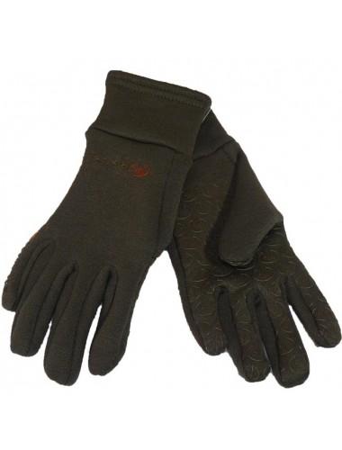 Roeckl fleece gloves - Brown