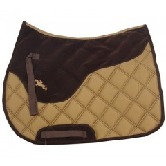 Saddlepad HKM brown