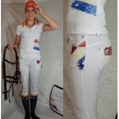 Animo Nterra breeches, white