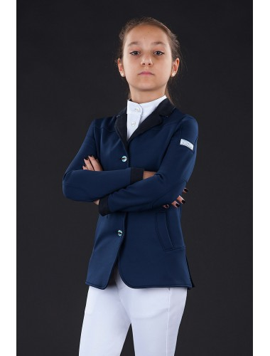 Animo Lucente girls jacket,blue navy