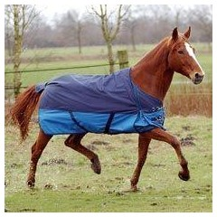 Weide/regendeken met fleece voering